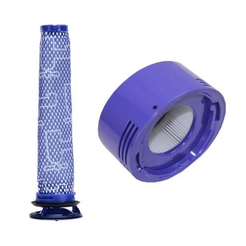 Cordless Filter Bundle Pre-Filter Post- Filter HEPA Motor Filter For Dyson V7 V8 96566101+96747801