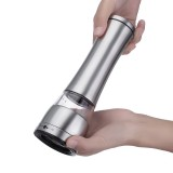 Adjustable Hand Stainless Steel Salt Mill Spice Sauce Pepper Grinder Muller Tool
