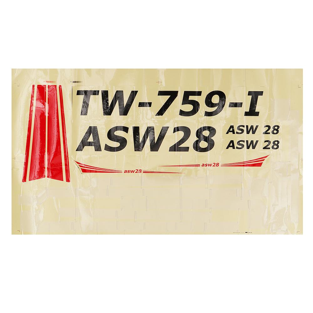Volantex ASW28 ASW-28 V2 RC Airplane Spare Part Fuselage Body
