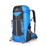 Nylon Waterproof 55L Outdoor Climbing Hiking Sport Backpack Camping Mountaineering Backpacks For Men