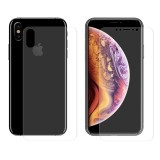 Enkay Front Back Rear Screen Protector For iPhone XS Max 3D Curved Edge Hot Bending Soft PET Film