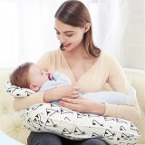 Baby Nursing Pillows Maternity Baby Breastfeeding Pillow Infant Cuddle U-Shaped Cotton Waist Cushion