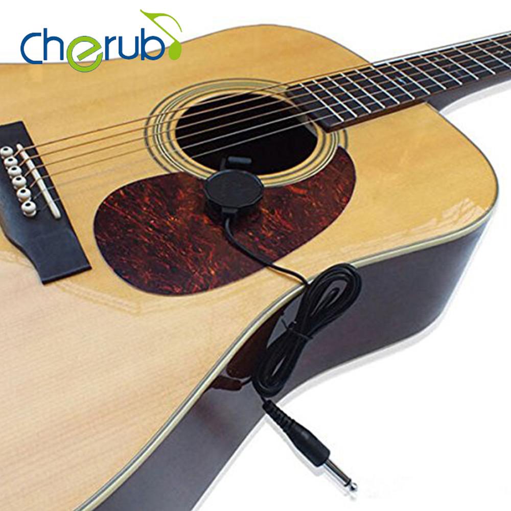cherub wcp 60g ukulele guitar pickup professional clip on pickup for acoustic guitar. Black Bedroom Furniture Sets. Home Design Ideas
