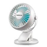 Portable USB Personal Fan USB Desk Clip Fan Portable Travel Clip Fan Rechargeable USB Mini Clamp Fan