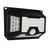 ARILUX Waterproof 3.5W 66 LED Solar Light PIR Motion Sensor Wall Lamp 3 Modes for Outdoor Garden