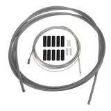 BIKIGHT 2m Bike Bicycle Front Rear Inner Outer Wire Brake Gear Shifter Cable Cycling Repair Kit Mult