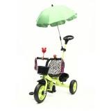 BIKIGHT 3 Wheels Kids Ride On Tricycle Bike Children Ride Toddler Balance With Umbrella Baby Mini Bi