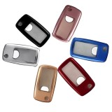 Soft TPU Car Remote Smart Key Fob Cover Case/bag Shell for VW Golf GTI Passat Jetta Seat Altea