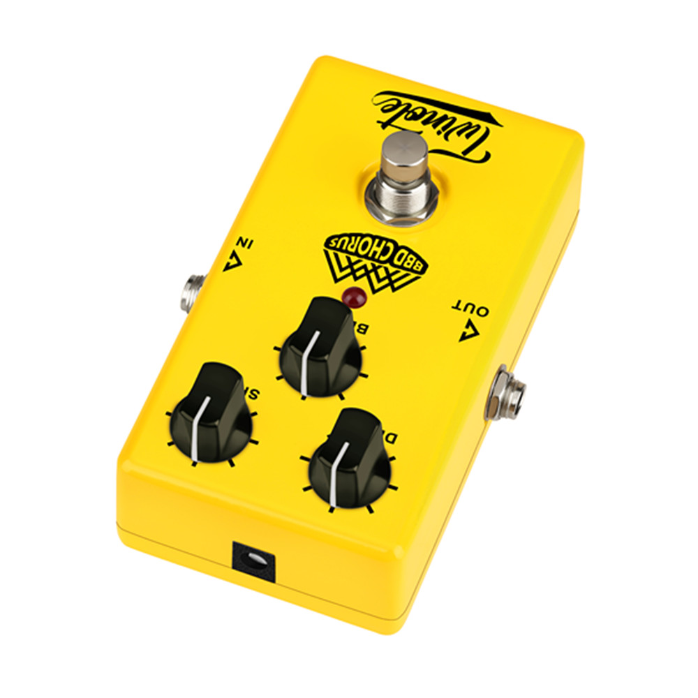 Twinote Analog Chorus Guitar Effect Pedal Chorus effects Pedal Low Noise BBD circuitry True Bypass