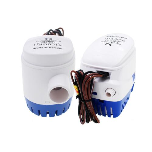 DC 24V 1100GPH Automatic Bilge Pump, Submersible Boat Water Pump, Electric Pump For Boats.Bilge Pump