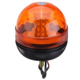 12V-24V LED Rotating Flashing Amber Beacon Flexible Tractor Warning Signal Light
