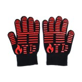 BBQ Grill Glove 500 Extreme Heat Resistant Gloves Cooking Baking Gloves Camping Picnic