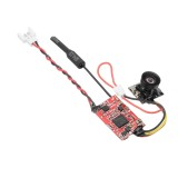 IDC-819H FPV 5.8G 0/25mW/200mW Switchable Audio Video Transmitter Integrated With Camera