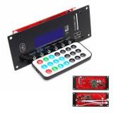 12V Wireless Bluetooth 4.0 MP3 Audio Decoder Board Radio Module APE/FLAC/MP3/WMA/WAV APP Control For