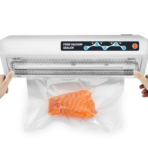 LAIMENG Vacuum Sealer Machine With Vacuum Bags Free Food Saver Vacuum Packer for Food Storage