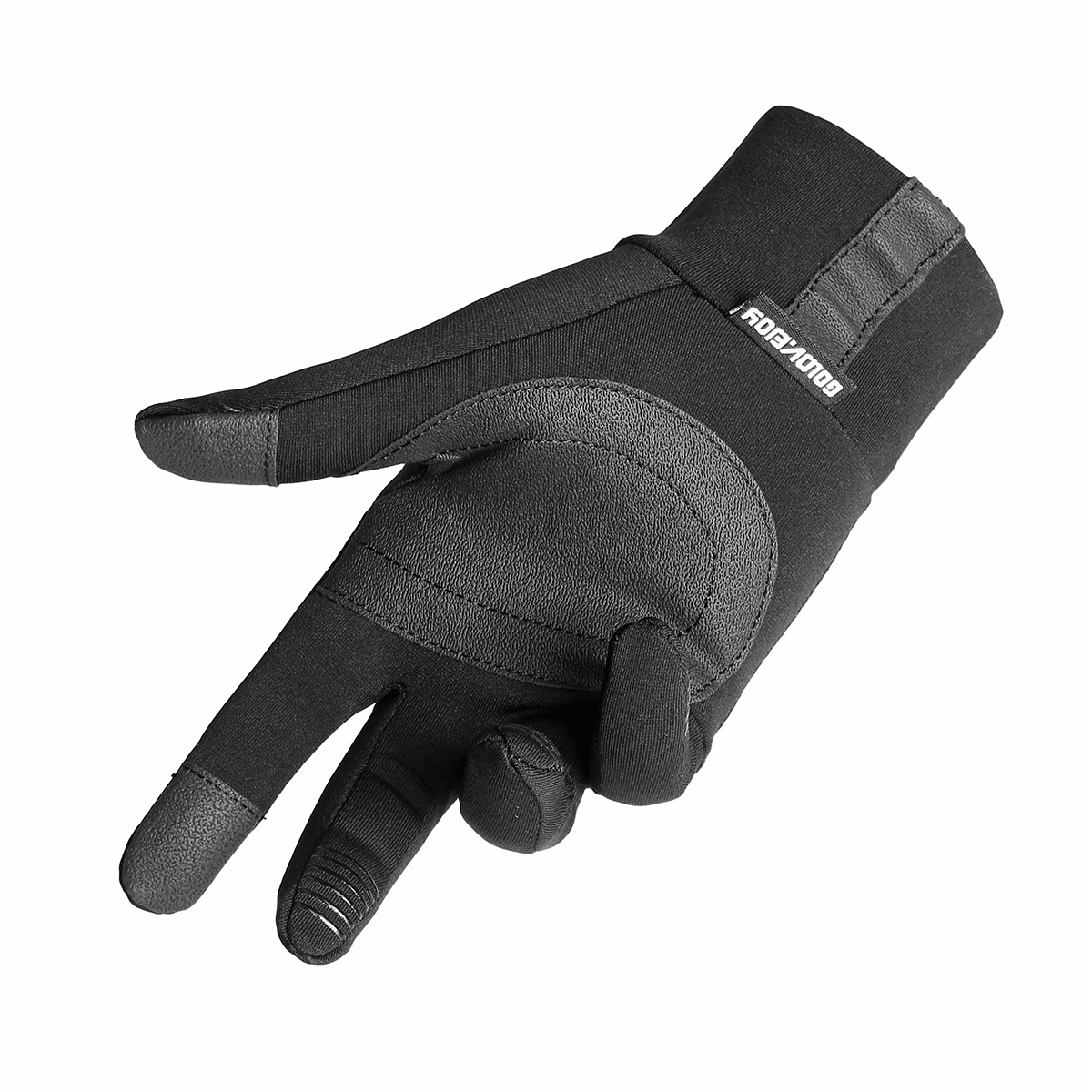 Motocycle Touch Screen Winter Gloves Thermal Warm Velvet Lined Anti Skid Racing Cycling