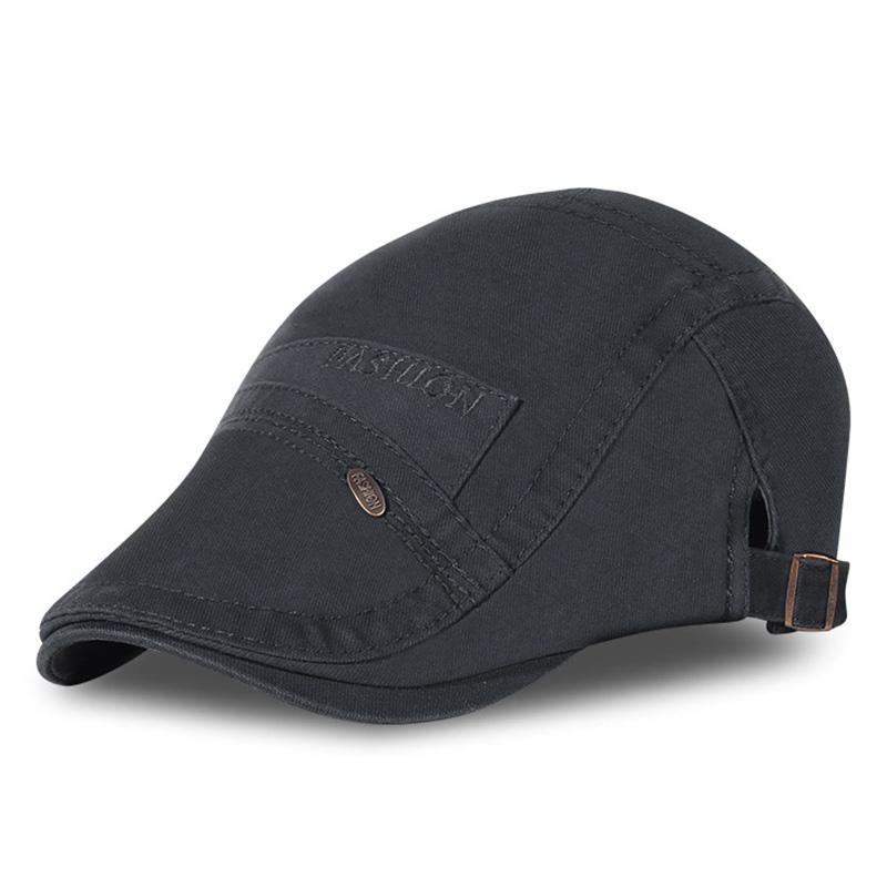 Casual Mens Literary Painter Beret Hat Cotton Adjustable Versatile Baseball Newsboy Caps