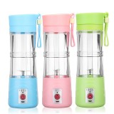 380ml Mini USB Rechargeable Electric Fruit Juice Smoothie Mixer Maker Blender Juicer Bottle Shaker