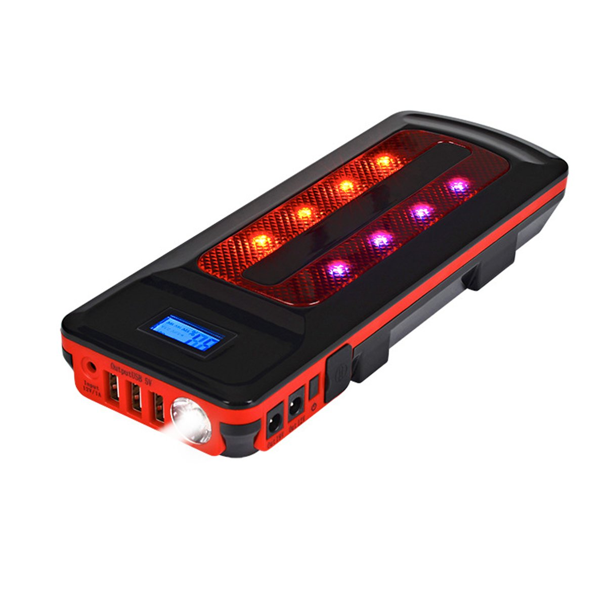 Built-in LED Light N//D 99800mAh Portable Car Jump Starter Battery Booster Phone Charger with Smart Charging Port