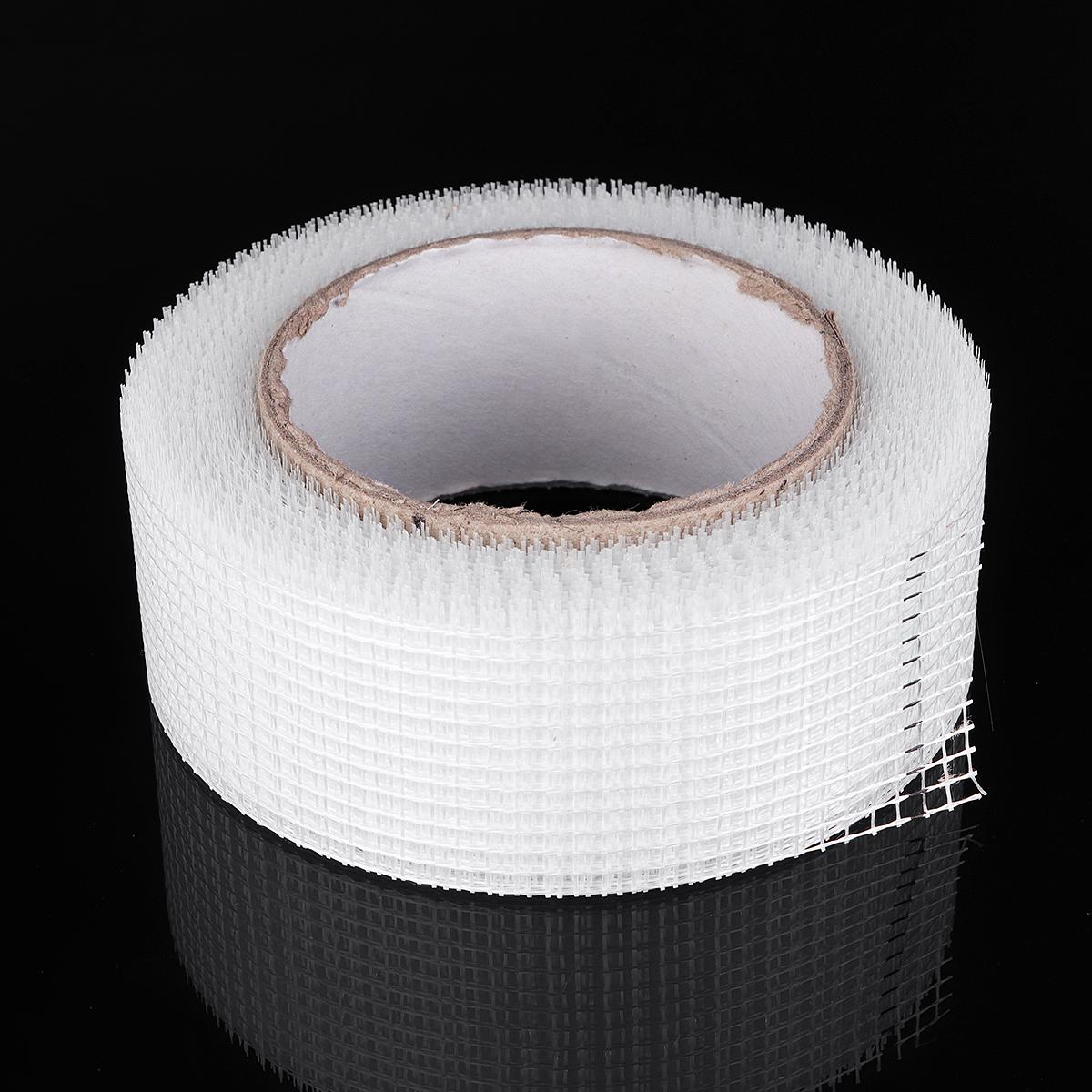 100mm x30m Fiberglass Cloth Tape Glass Fiber Mesh Joint Tape Plain Weave E-Glass