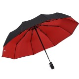 Automatic Umbrella Double layer Windproof Anti-UV Umbrella Camping 1-2 People Folding Sunshade