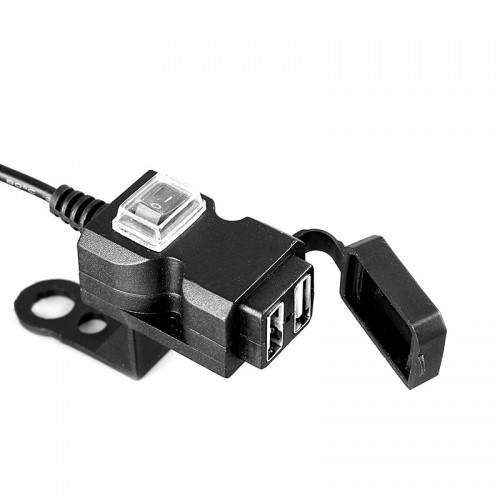 BIKIGHT Phone USB Charger 1A/2.1A Xiaomi Electric Scooter Motorcycle E-bike Bike Bicycle Cycling