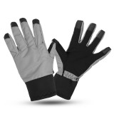 Motorcycle Touch Screen Gloves L size Winter Warm Windproof Waterproof Anti-slip Thermal Nylon