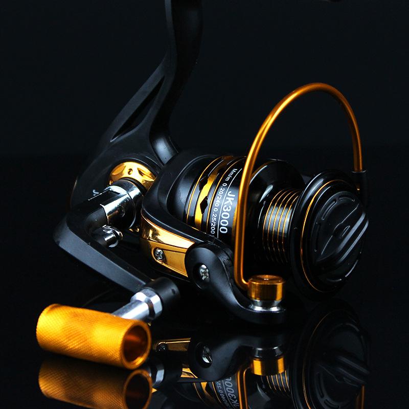 ZANLURE 2000-4000 5.2:1 12+1BB Sea Fishing Reel Left Right Interchange Reel