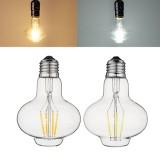 E27 G80 3W Warm White Pure White Filament Incandescent Light Bulb for Home AC85-265V
