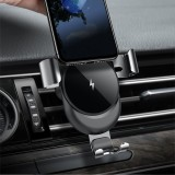 Cafele QI Wireless Charger Car Air Vent Phone Holder Gravity Auto Lock Mount for iPhone 8 X/Samsung