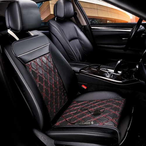 12V Car Heated Seat Cushion Seat Warmer Winter Household Cover Electric Heating Mat Pad