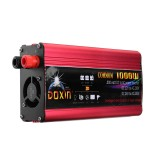 DOXIN Power Inverter 2000W Peak Modified Sine Wave Converter DC 12V/24V To AC 220V USB Plug Port