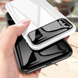 Bakeey Protective Case for iPhone XR 6.1″ Tempered Glass Lens Protection+PC Glossy Back Cover