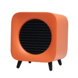 700W Fan Heater Portable Electric Winter Warmer Fan Desk Camping Home Two Mode Heating Device