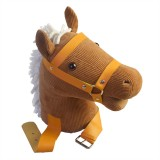 MoFun Happy Horse Parent-Child Interactive Riding Toys Emotional Companion Plush Toy For Children