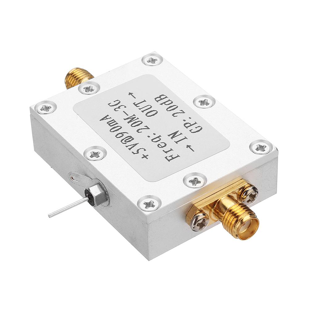 High Linearity Wideband RF Amplification 20dB 0.02-3G High Performance Medium Power Amplifier Module