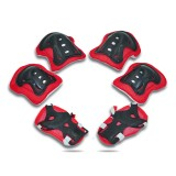 6Pcs Kid Roller Cycling Skating Skateboard Children Sports Protective Gear Elbow Knee Wrist Guards