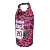 20L Waterproof Bag Camping Rafting Storage Dry Bag Swimming Bag Lightweight Diving Floating Bag