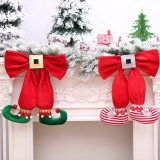 Christmas Tree Elf Foot Shape Pendant Party Gifts Home Tree Ornaments Decorations