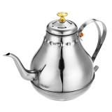 1.2/1.8L Stainless Steel Coffee Drip Kettle Pot for Coffee Tea with Filter Net