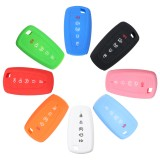 5 Buttons Silicone Remote Key Case Cover Case Protector For Ford Fusion F250 2017