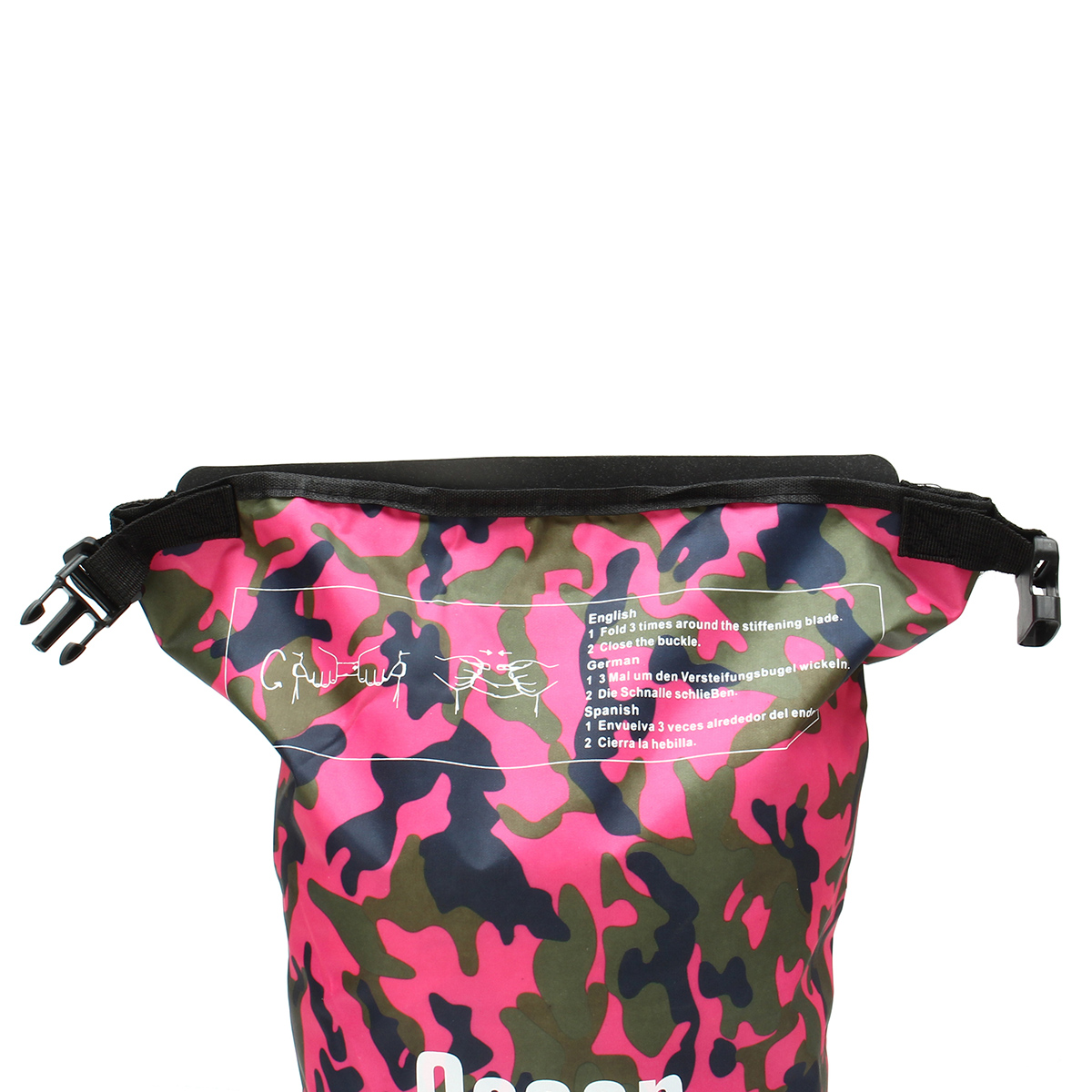 15L Waterproof Bag Camping Rafting Storage Dry Bag Swimming Bag Lightweight Diving Floating Bag