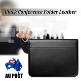 13.38 x 10.24 Inch Business Men Briefcase Bag PU Leather Black Bag Office handbag Briefcase