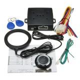 Car Engine Push Start Buttons RFID Lock Ignition Starter Keyless Entry Start 12V