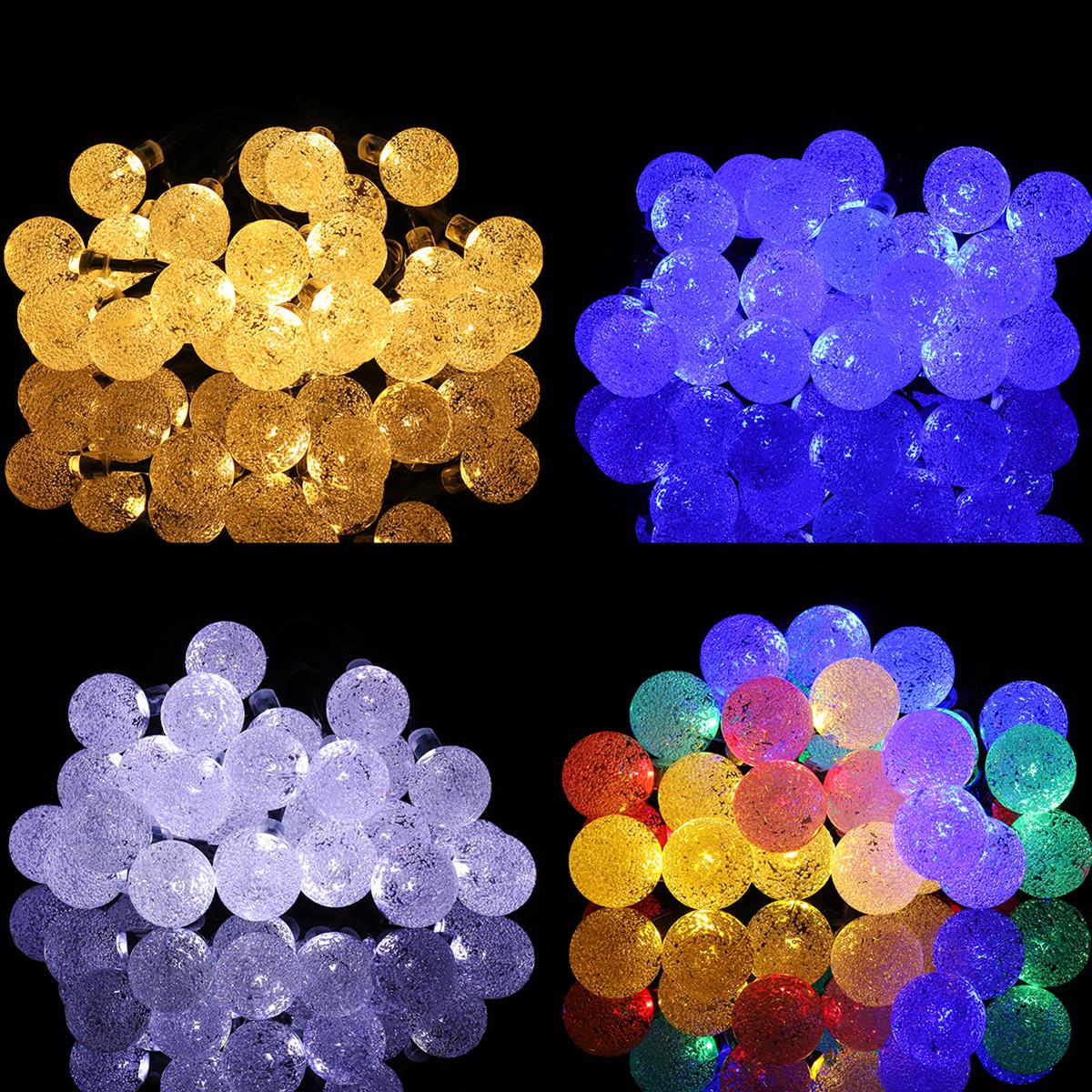 30 LED Solar Power Christmas Fairy String Light Party Outdoor Patio Decor Lamp