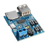 20pcs MP3 Lossless Decoder Board With Power Amplifier Module TF Card Decoding Player