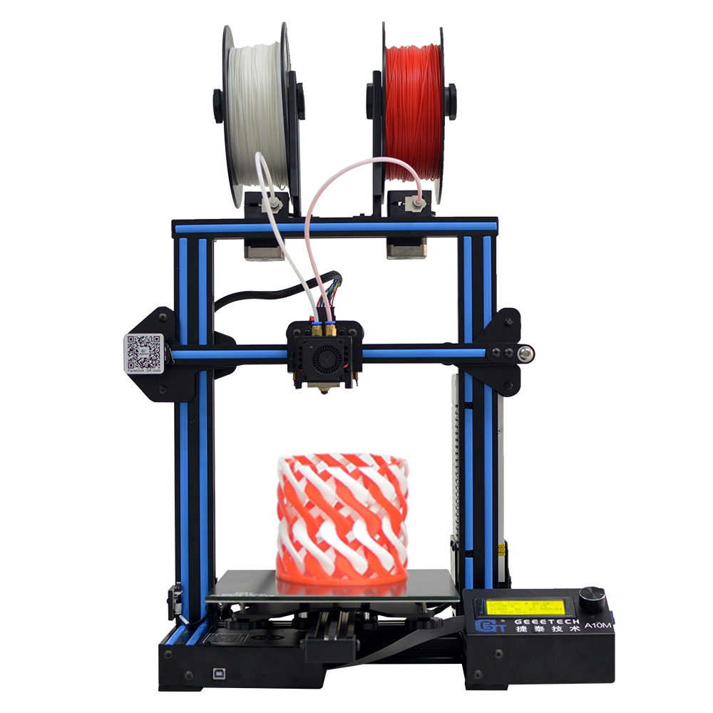 Geeetech A10M Mix-color Prusa I3 3D Printer 220*220*260mm
