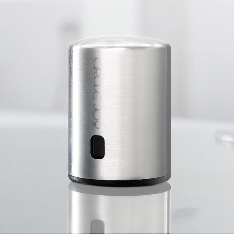 XIAOMI Circle Joy Smart Wine Stopper Stainless Steel Vacuum Memory Wine Stopper Electric Stopper