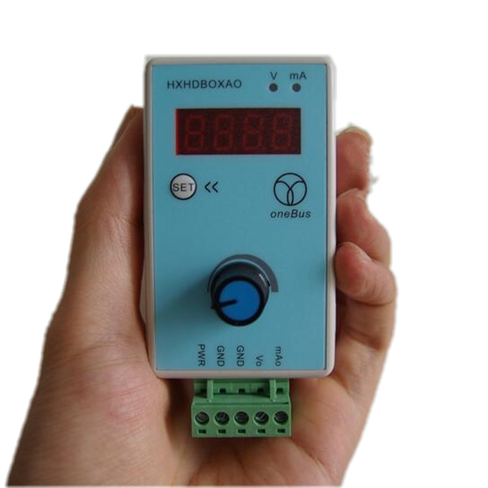 Handheld Adjustable Current Voltage Analog Simulator 0-10V/2-10V 0-20mA Audio Signal Generator