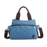 Canvas Shoulder Bag Waterproof Travel Storage Bag Outdoor Camping Handbags Crossbody Bag